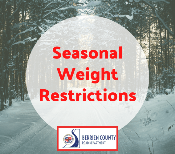Seasonal Weight Restrictions Newsflash