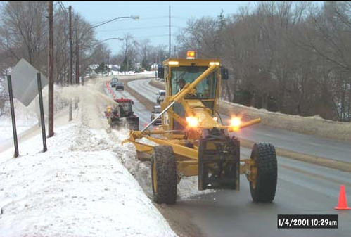 Road Crew Clearing Roads
