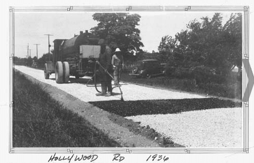 Road Crew doing Work 1936