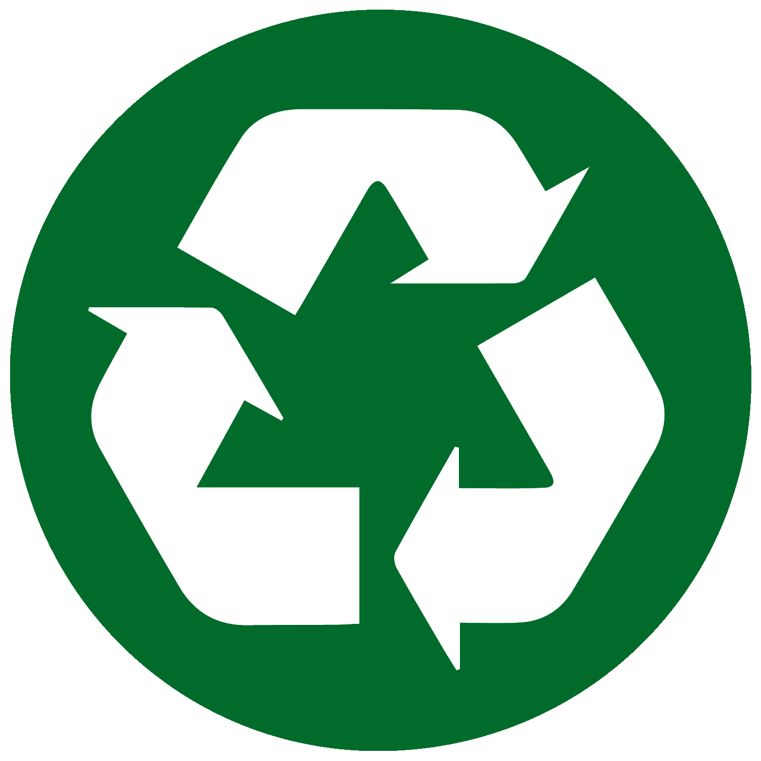 recycle circle green from Juli 2015
