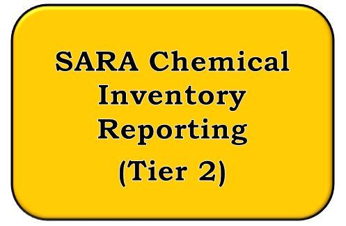 SARA Chemical Inventory Reporting INformation