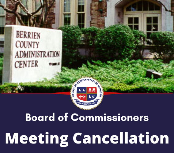 Board of Commissioners Meeting Cancellation