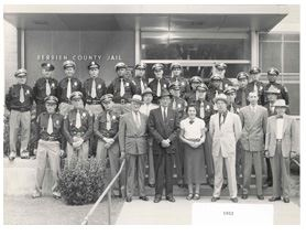 Berrien County Jail Staff Circa 1950