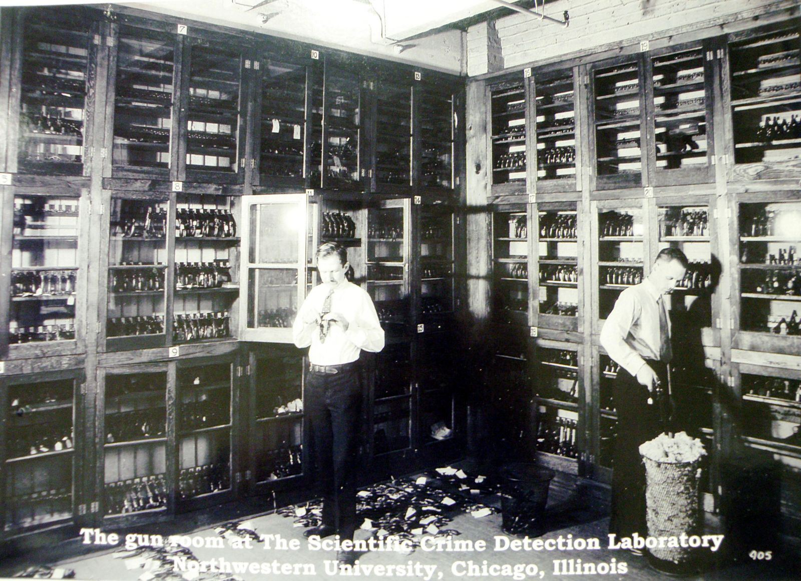 Gun Room at the Scientific Crime Detection Laboratory at Northwestern University