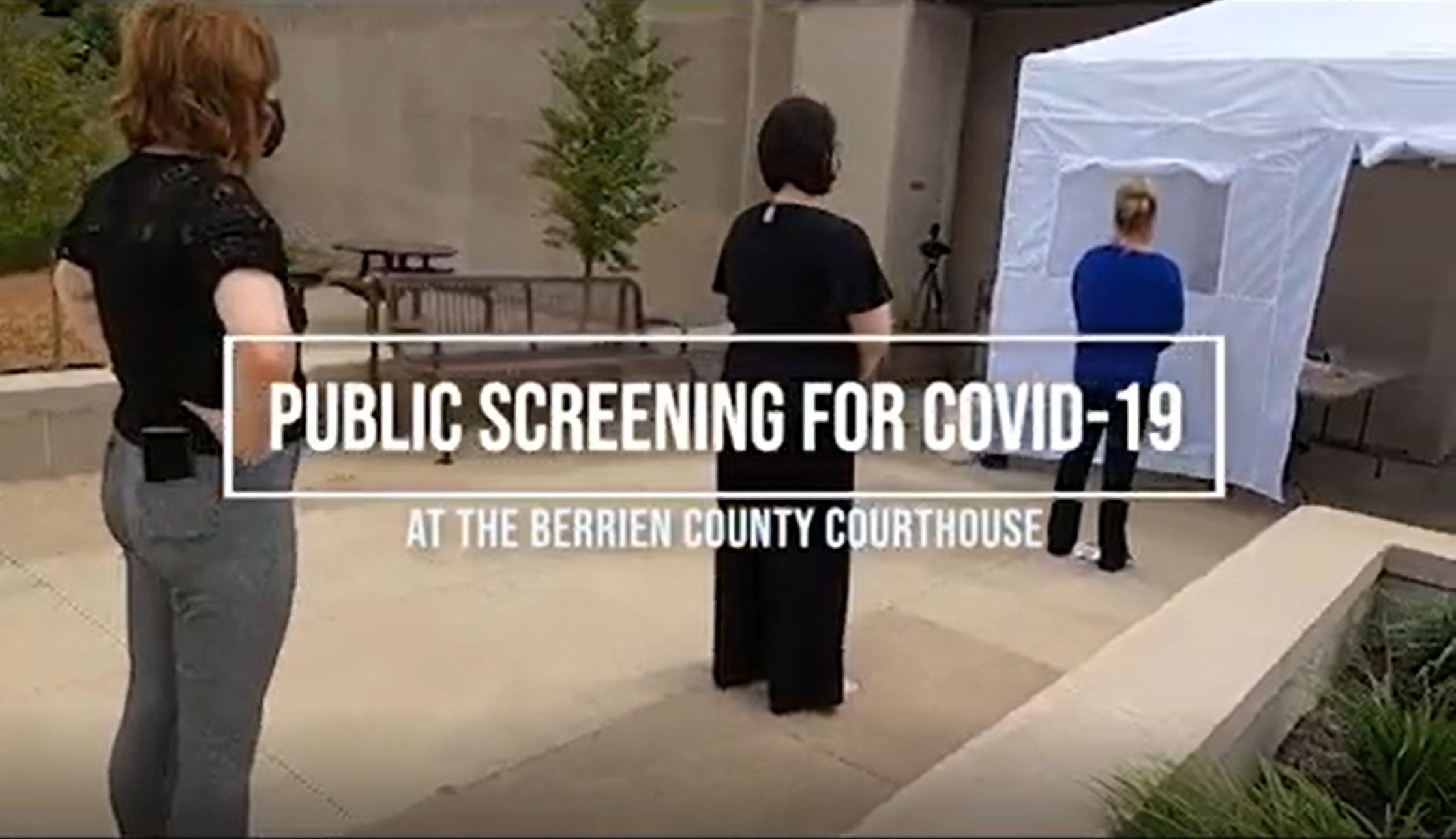 COVID-19 Public Screening Video Link Opens in new window